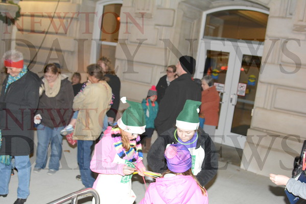 2016 Jasper County Courthouse Lighting and Parade