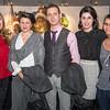 Laura Snyder, Tiffany Ross, Nikola Mihaelj Ross, Alex Hepfinger and April Corbin.