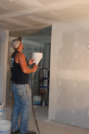 Jones Project - Drywall & Knockdown & Paint... Oh My!