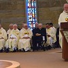Jubilarians listen to the homily