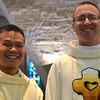 Classmates: Fr. Duy and Fr. Greg