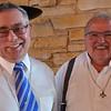 Former South Dakota pastoral team members: Br. Frank and Fr. Yvon