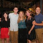 Zoe Johns-Boehme, Sam Ellis, Grace, Lisa and Daniel Gimbel.