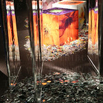 Artwork created by artist Julius Friedman was displayed.