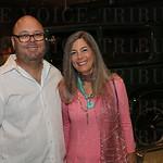 Dean Lavenson and Rhonda Goodall.