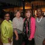 Carolle Jones Clay, Board of Directors Vice-Chair Chris Johnson, Jessica Loving and Renee Reynolds.