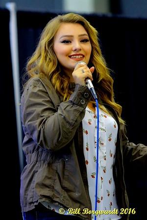 July 23, 2016 - Krissy Feniak at the K Days Cafe - Edmonton Expo Centre