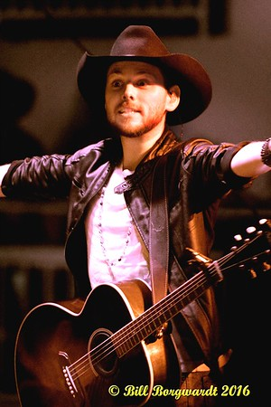 July 9, 2016 - Brett Kissel with Steve Newsome at Spruce Grove Tri-Leisure Centre