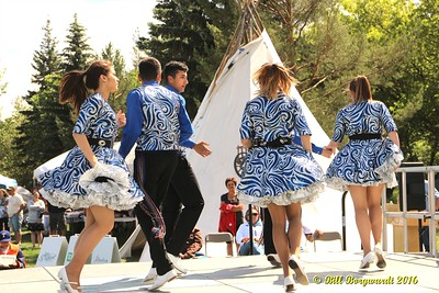 Metis Child Dancers - Aboriginal Days 2016 238