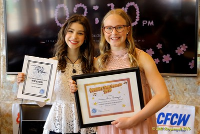 Hailey Benedict &  Hannah Gazso - Youth Winners - Star Search 2016 092