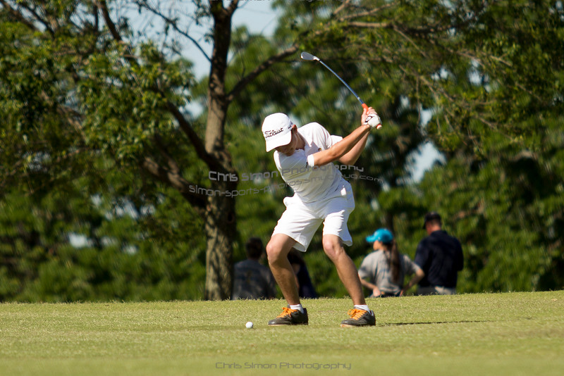 2016 KHS STATE GOLF - 14-BURNS