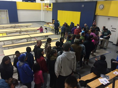 Amazing potluck turnout!
