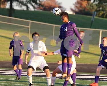 LHS JV/Var soccer at Paola