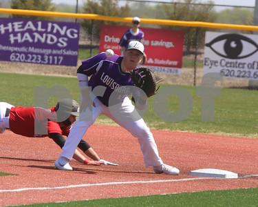 LHS Baseball at Fort Scott