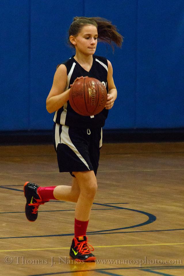 Lebanon Middle School Girls Basketball at Willington