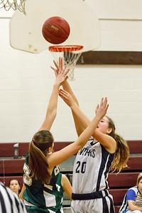 Lebanon Middle School Girls Basketball vs. Coventry
