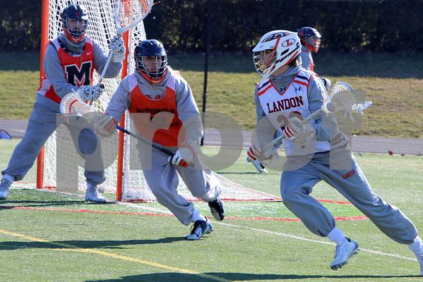 2016 Lacrosse Scrimmage Landon v McDonogh
