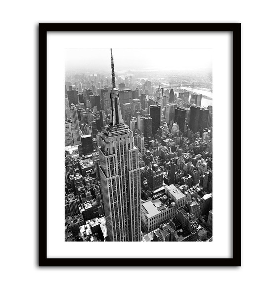 Empire State Building Framed
