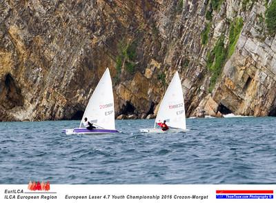 European Laser 4.7 Youth Championships  Crozon Morgat 2016