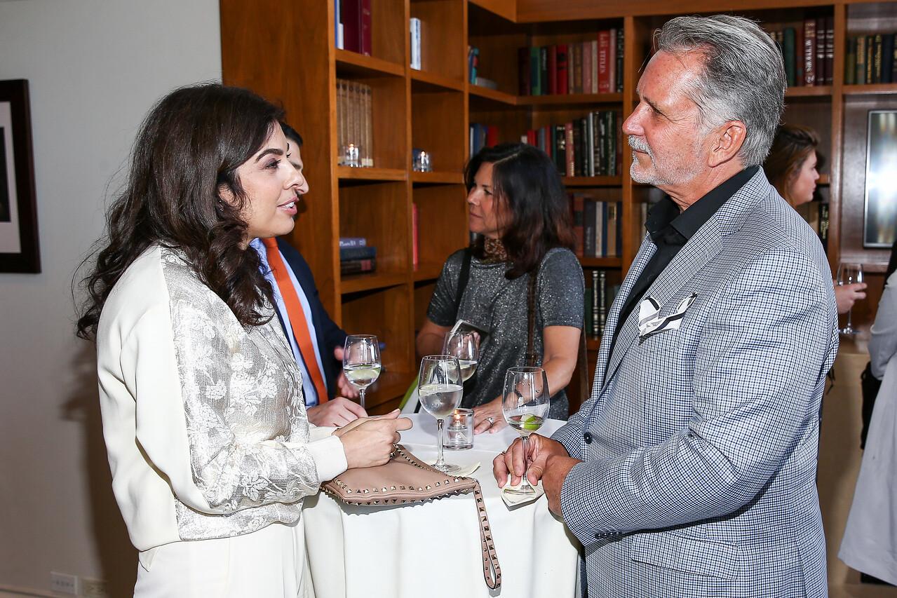Natasha Baradaran, Philip Nimmo
