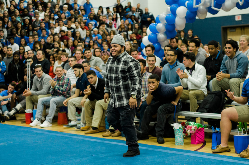 Leominster High held their annual Thanksgiving pep rally to root on the team before Thursday's turkey bowl against rival Fitchburg. SENTINEL & ENTEPRISE / Ashley Green