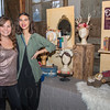 Tiffany Woodard of Darling Handmades and Melissa Manzo.