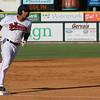 Tyler Hill hits a home run