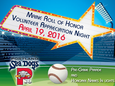 2016 Maine Volunteer Appreciation Night @ Sea Dogs