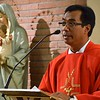 Fr. Alex gives the homily