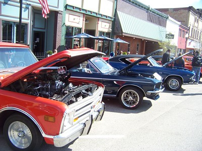 2016 car show at Shepherd Maple Syrup Festival