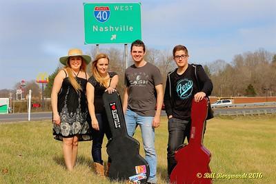 Michelle, Nicky, Ben, Josh - Nashville 2016 1510