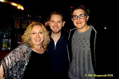 Michelle, Brett Kissel, Josh - Nashville 2016 3733