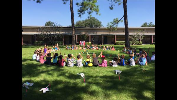 2016 - Memorial Drive Elementary Pinwheels for Peace