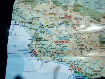 The start of the Journey-- Jaco - Montazuma- Santa Teresa