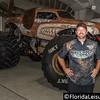 Dustin Brown - Driver Monster Mutt, Monster Trucks 2016, Orlando Citrus Bowl - 22 January 2016 (Photographer: Nigel G Worrall)
