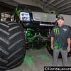 Damon Bradshaw - Driver of Monster Energy, Monster Trucks 2016, Orlando Citrus Bowl - 22 January 2016 (Photographer: Nigel G Worrall)