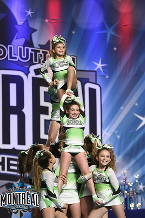 Limelight Cheerleading Flare - Small Youth