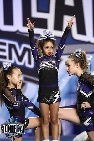 Thunder All-Stars Ceerleading Purple Reign - Small Youth