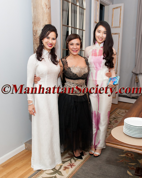 Chau-Giang Thi Nguyen Birthday Celebration Hosted By Maribel Lieberman