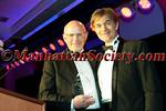 Ranndy Kellogg, CEO, recipient of the Golden Heart  Award on behalf of  Omron Healthcare, Inc.