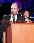 Rob Gasparello,  The Principal of Sharpstown High School, Houston, TX,  recipient of  The Yvette and Joel Mallah Crystal Heart Apple Award.