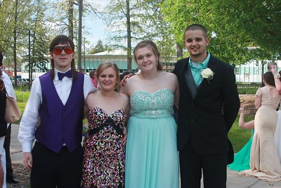 photo by Elizabeth Gray  Students at Mt Pleasant High School were dressed to impress for this years prom.