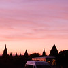 Nightfall on Bagan Plain
