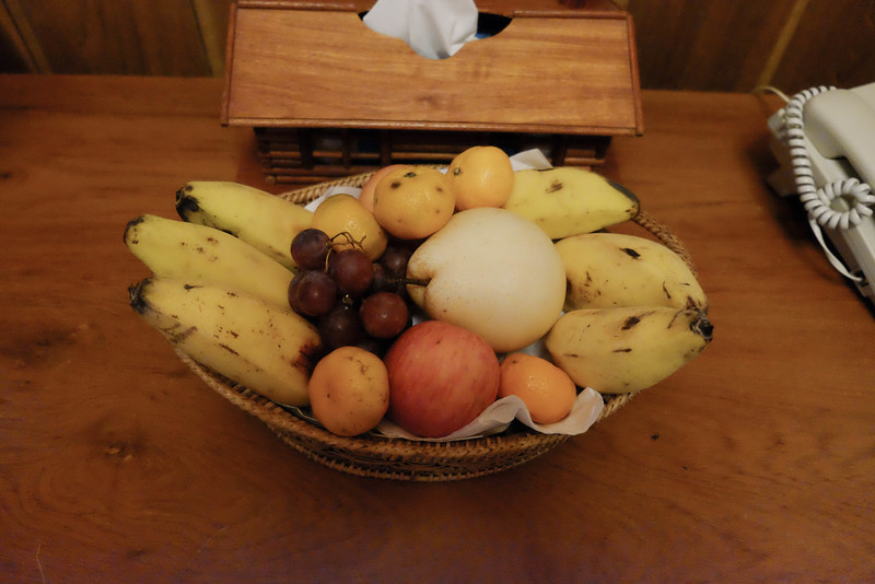 Fruit basket in the room