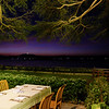 Nightfall at Thande hotel restaurant