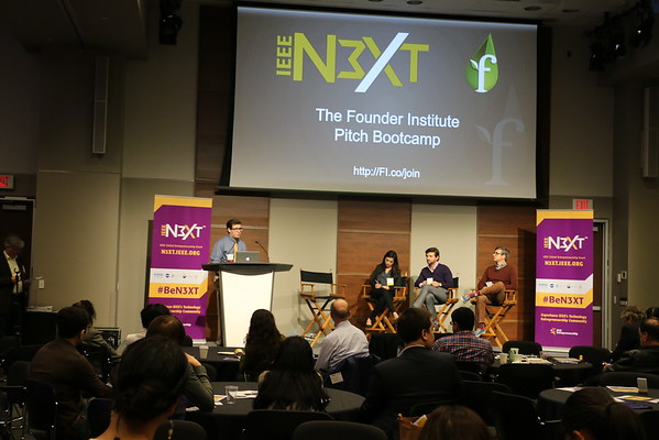 IEEE N3XT and Founder Institute Pitch Bootcamp