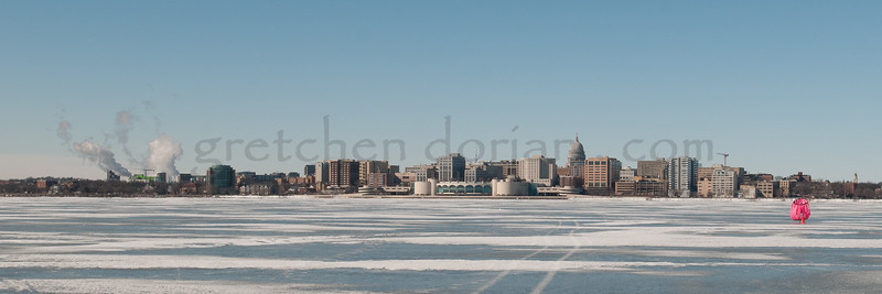 Downtown Madison from Lake Monona