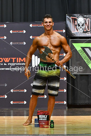 Mens Novice Physique Finals