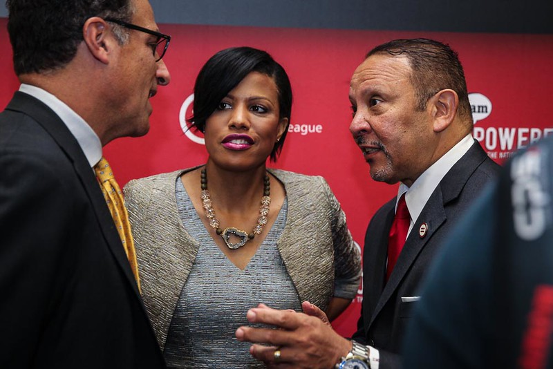 The first day of the 2016 National Urban League Conference at the Baltimore Convention Center, Baltimore, Maryland, Wednesday, August 3, 2016. (Photo by Sharon Farmer)