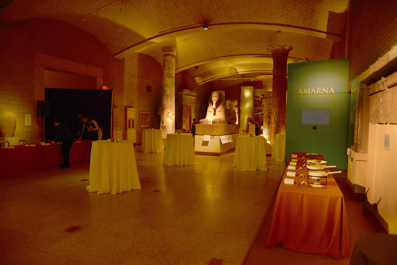 Lower Egyptian Gallery at the University of Pennsylvania Museum of Archaeology and Anthropology.